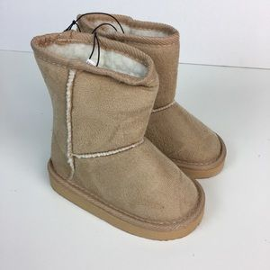 Toddler Boots Booties Faux Suede Ugg Inspired 6 9